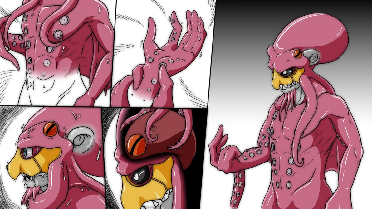 Octopus Lord TF comic P2 by nesise