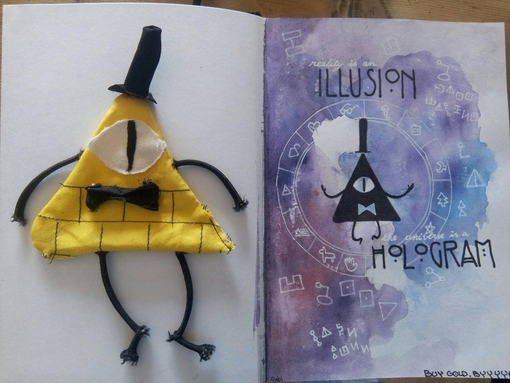 Bill Cipher  by timelordoftherings