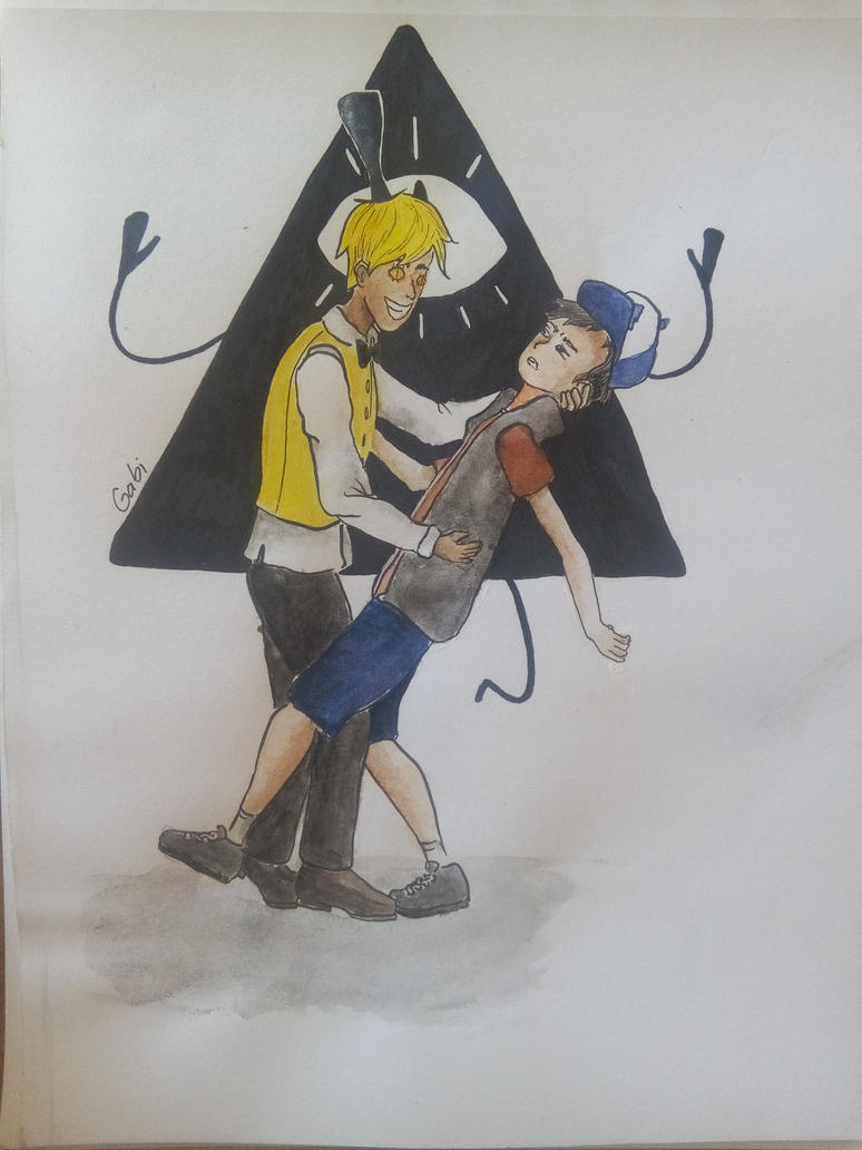 Bill and Dipper  by timelordoftherings