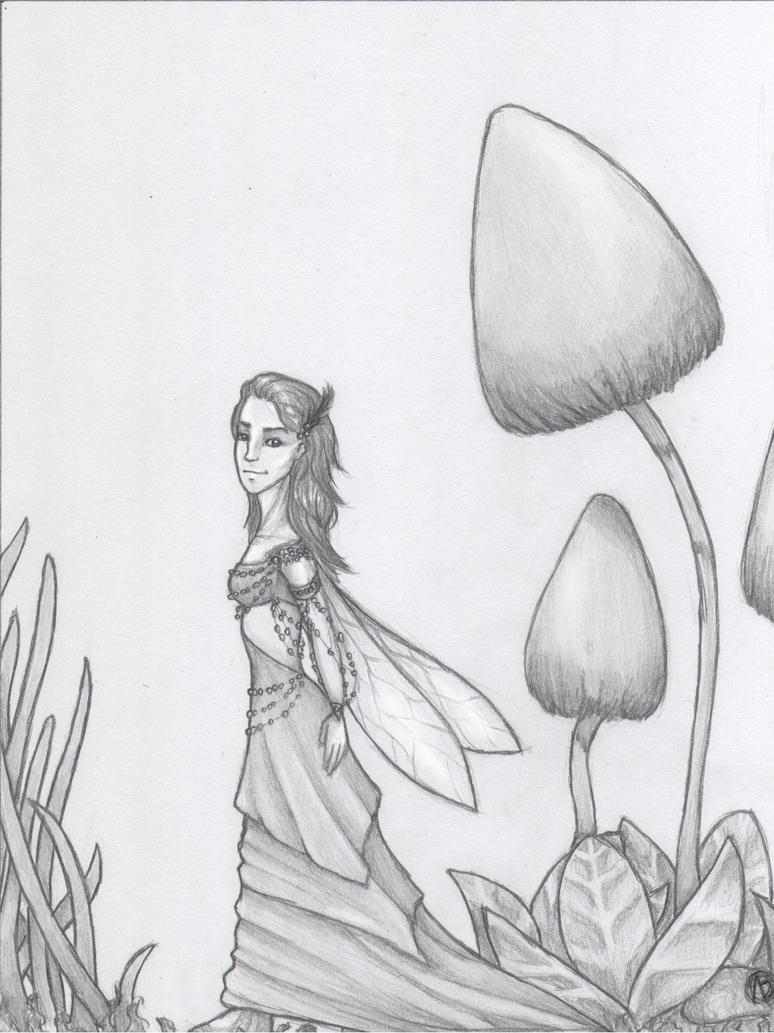 Autumn fairy by Hym-Lee
