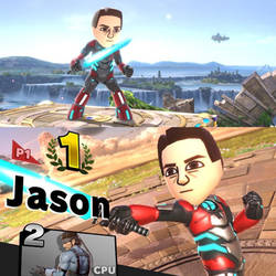 Mighty Morphin Mii Fighter Red