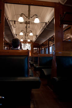 Old Steam Train Interior 1