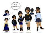 A few changes to Yuni by Peachyfall12