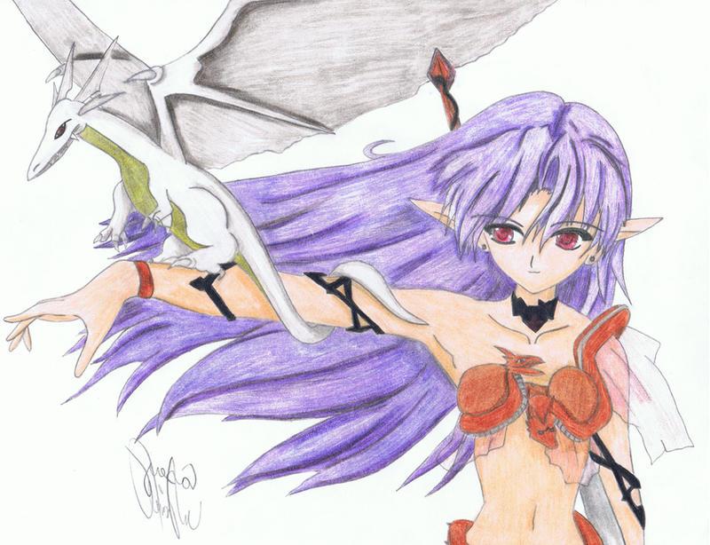 Dragon Tamer by Velvet-Vampire