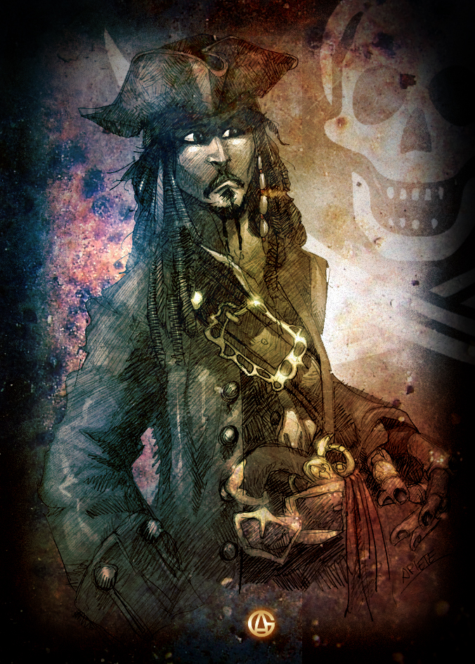 Captain Sparrow by thenota