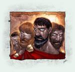 Spartans coloured