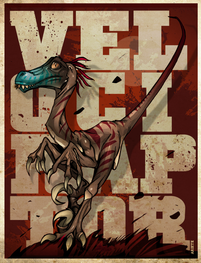 Velociraptor by thenota