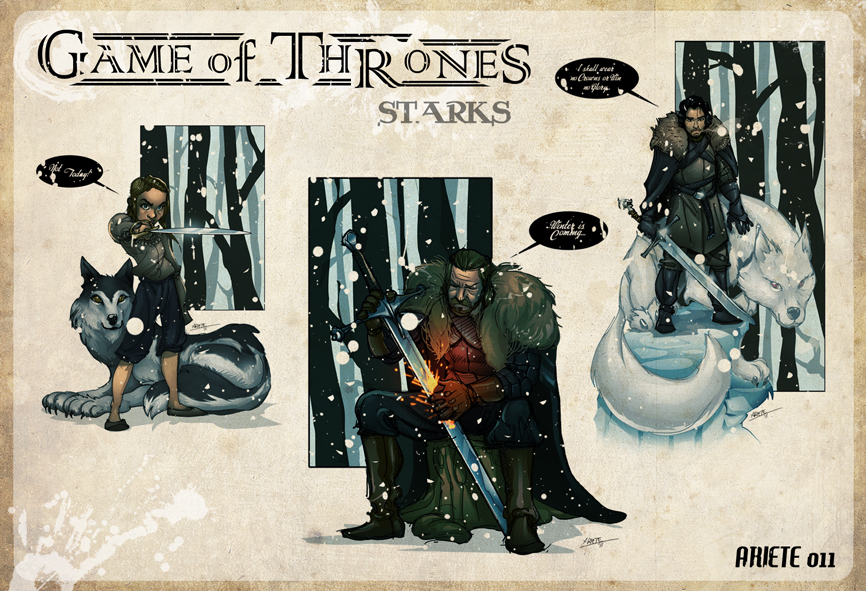 Starks Redux by thenota