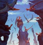 Raptors vs Pterodactylus