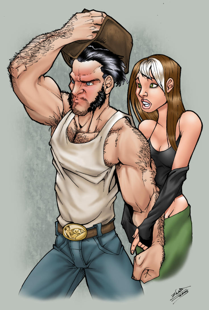 wolverine and rogue mature fanfiction