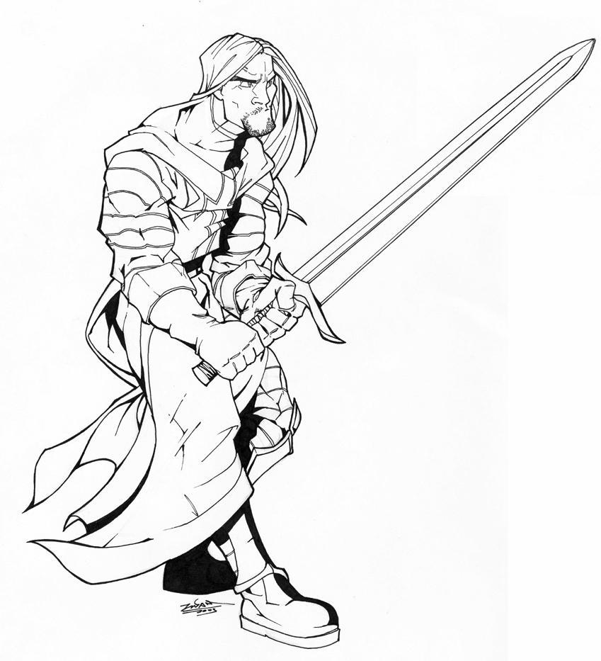 templar knight ink by thenota on DeviantArt