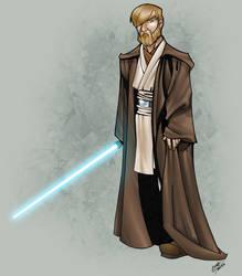 Obi Wan Kenobi colour by thenota