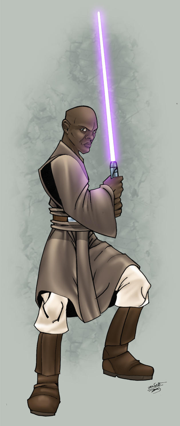 mace windu colour by thenota