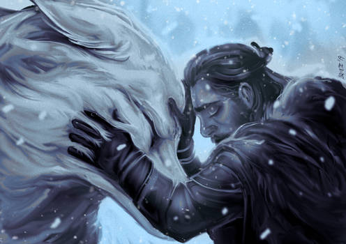 Jon and Ghost