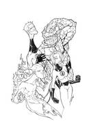 fantastic four ink by thenota