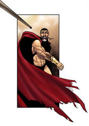 Leonidas spear by thenota