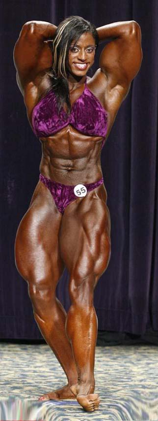 unique muscle woman monique by schizoshiva77 on deviantart