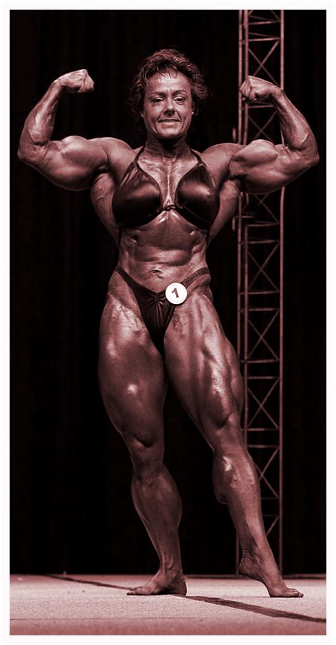 Mature Muscular Women 101