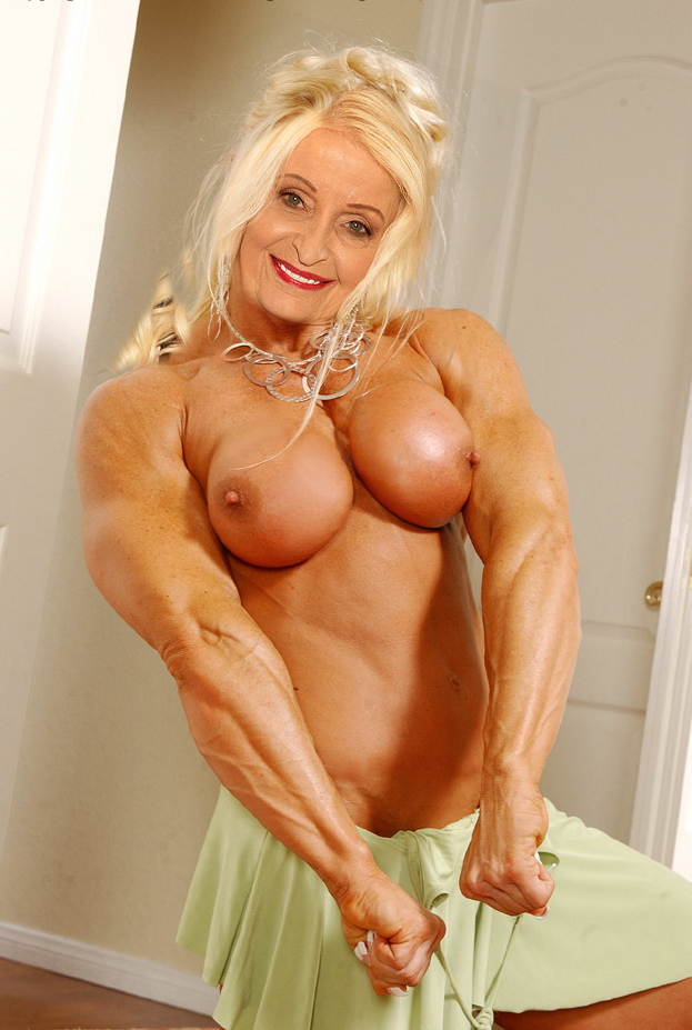 Granny Muscle Nude 2