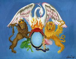 Queen Logo by irispirate