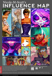 Influence Map by nicole-m-scott