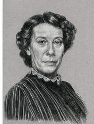 Downton Abbey Mrs. Hughes by mfreed