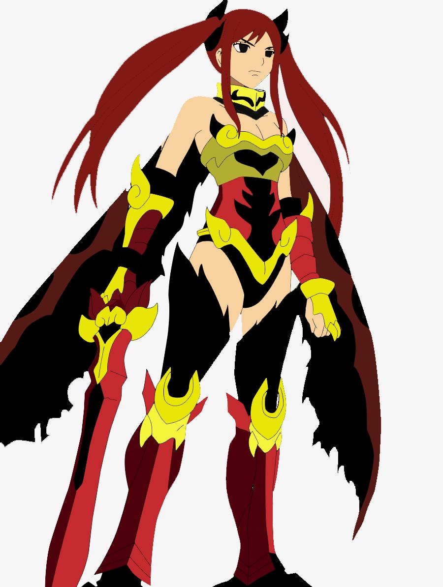Erza Scarlet Flame Empress Armor by gamingwithlink on deviantART