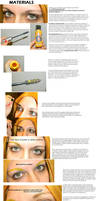 Cosplay - Eyebrow Color Tutorial by Epic-Fangirl