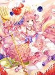 Magical Girls: Fluffy cake