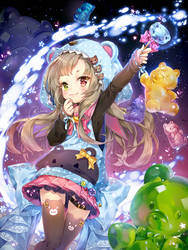 Magical Girls: Gummybear by hieihirai