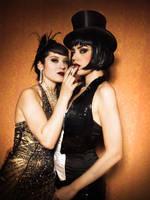 A lady and her dandy by DarkVenusPersephonae
