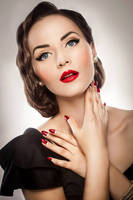 Vintage beauty by DarkVenusPersephonae