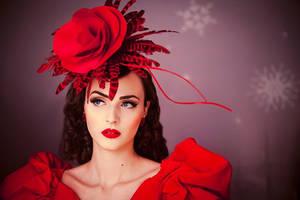 Winter Rose by DarkVenusPersephonae