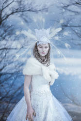 Chione : Goddess of Snow by DarkVenusPersephonae