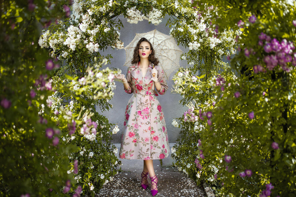 enchanted garden by darkvenuspersephonae - Enchanted Garden