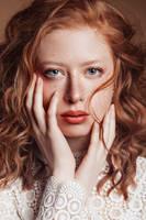 Freckled Beauty by DarkVenusPersephonae