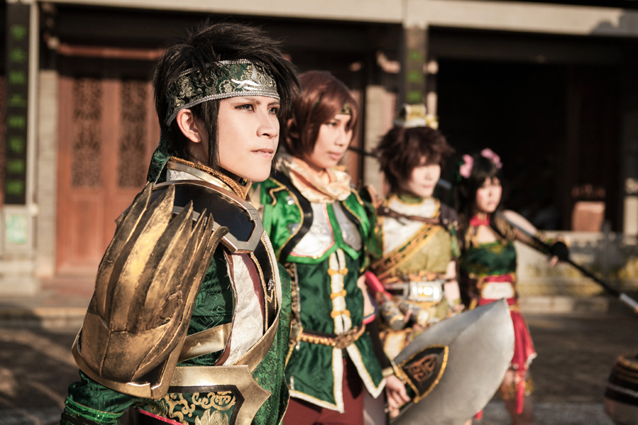 All of us, along with our Dad - Dynasty Warriors 8 by roadscream