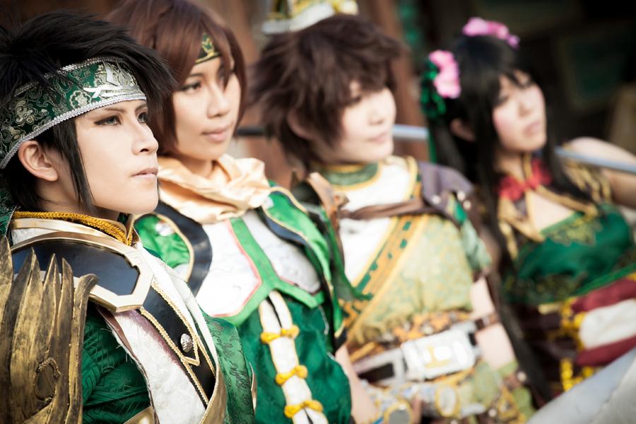 Guan's Family - Dynasty Warriors 8 by roadscream