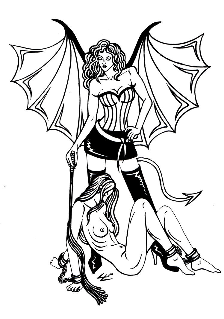 succubus couple by Lycra21