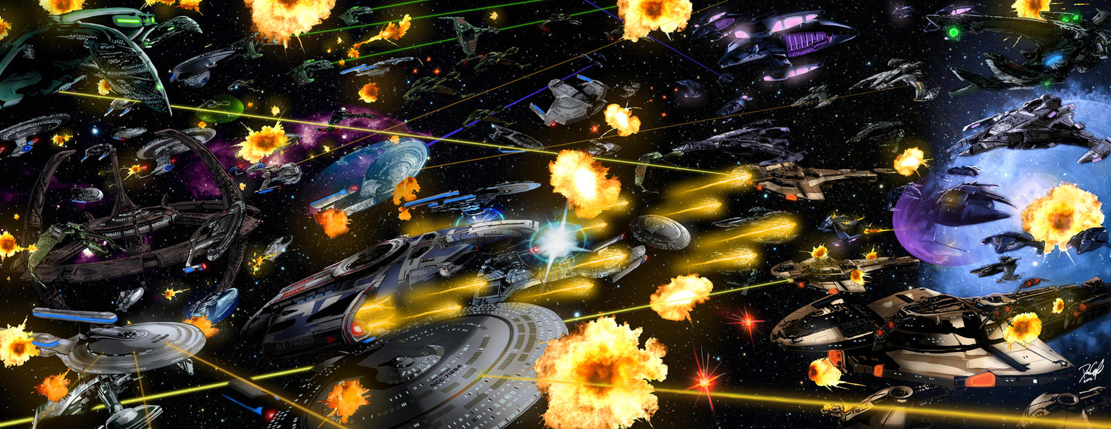 The Battle for Deep Space 9 Final by danecypel