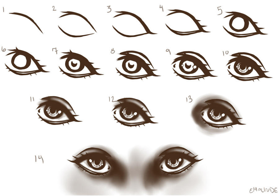 New Eye Tutorial by EmaLinde