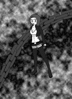 fem fighter manga style