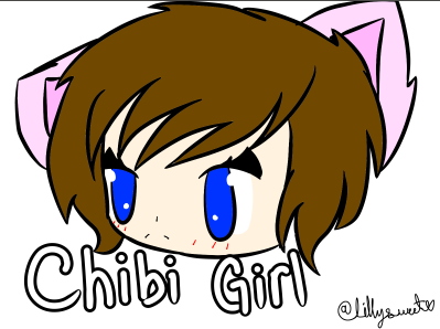 Chibi Girl #JustBored by LillysweetDrawsFNAF on DeviantArt