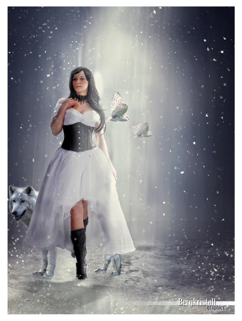 white winter world by Bergkristalle