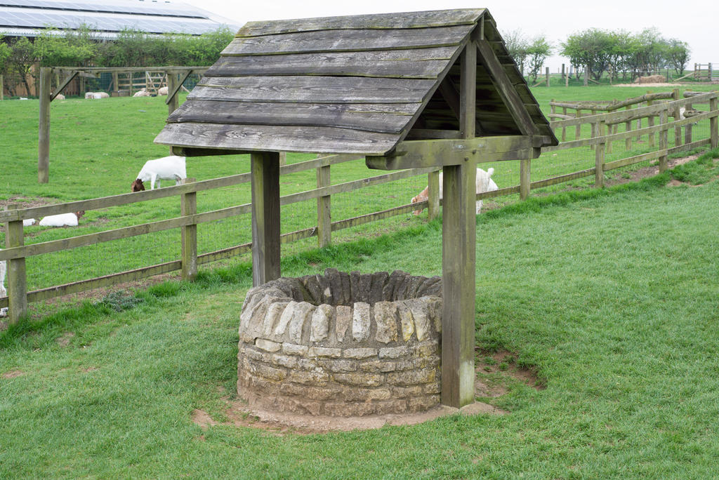 Wishing Well Stock2 - Cotswold Farm Park by jeffkingston