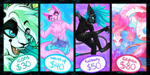 COMMISSION INFO(RULES/ORDER FORM IN DESCRIPTION) by kittyskeletal