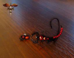 The red scorpio by alina-loreley