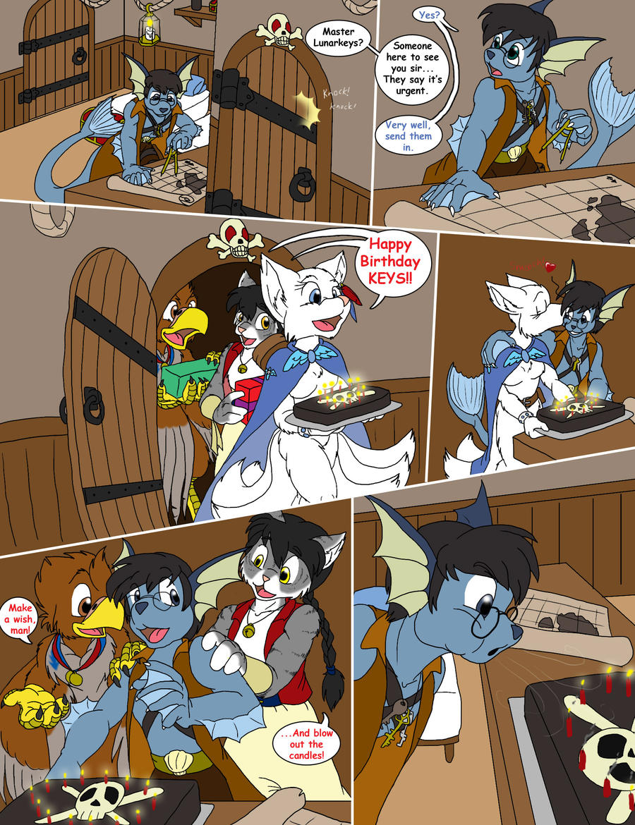 Lunarkeys' birthday wish-pg1 by Arrow-Quivershaft