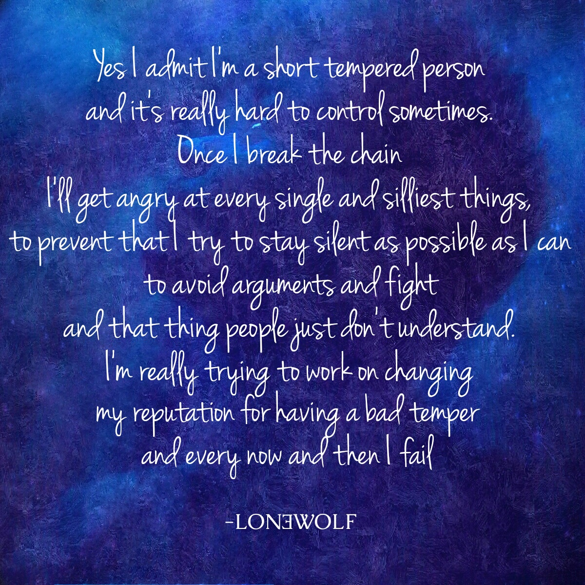 Lon3wolf Anger Quote Short Temper Quote By Lon3wolfofficial On Deviantart