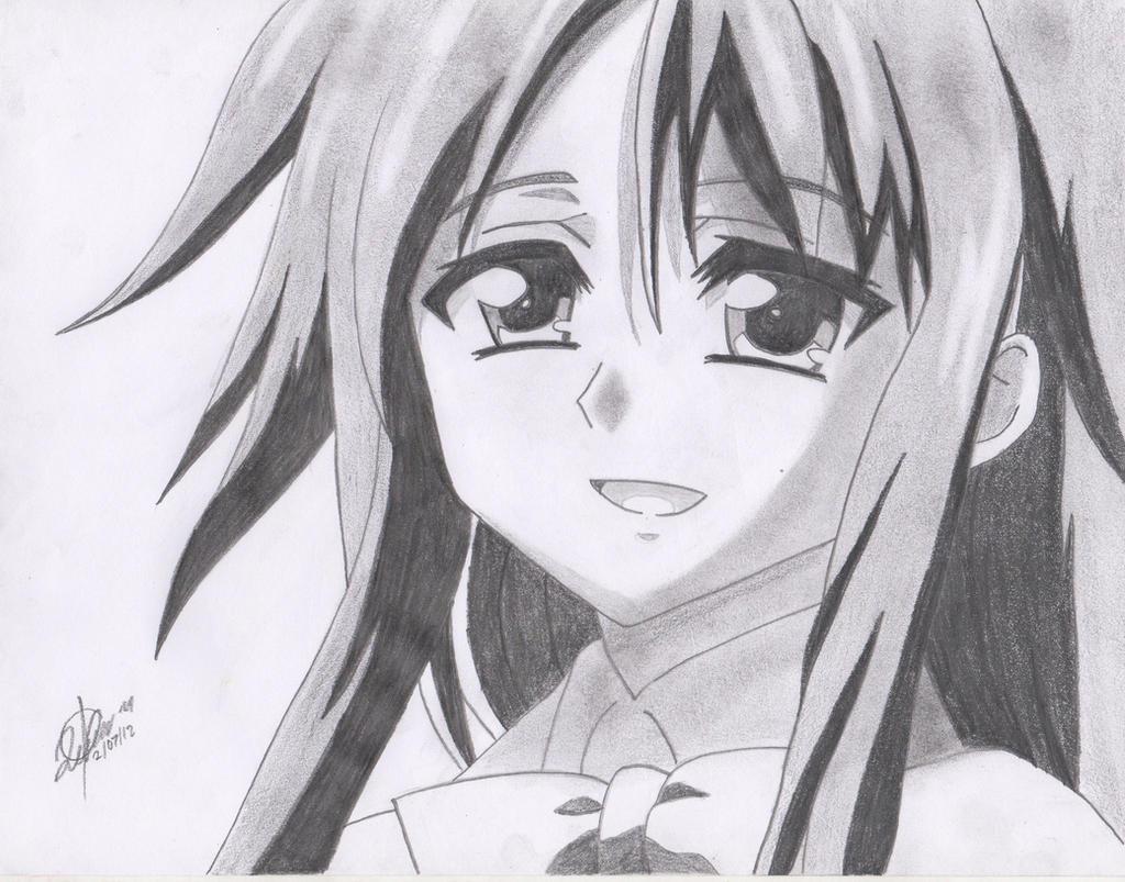 Hiyori Kazane - Sora no Otoshimono by AdaAlberto